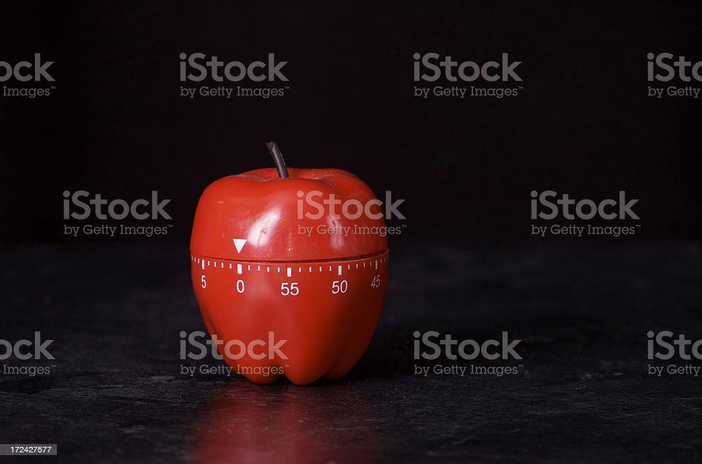 kitchen timer royalty-free stock photo