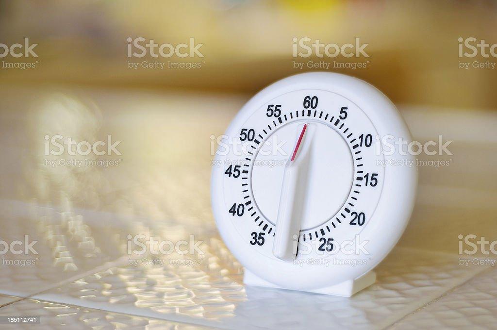 Kitchen Timer stock photo