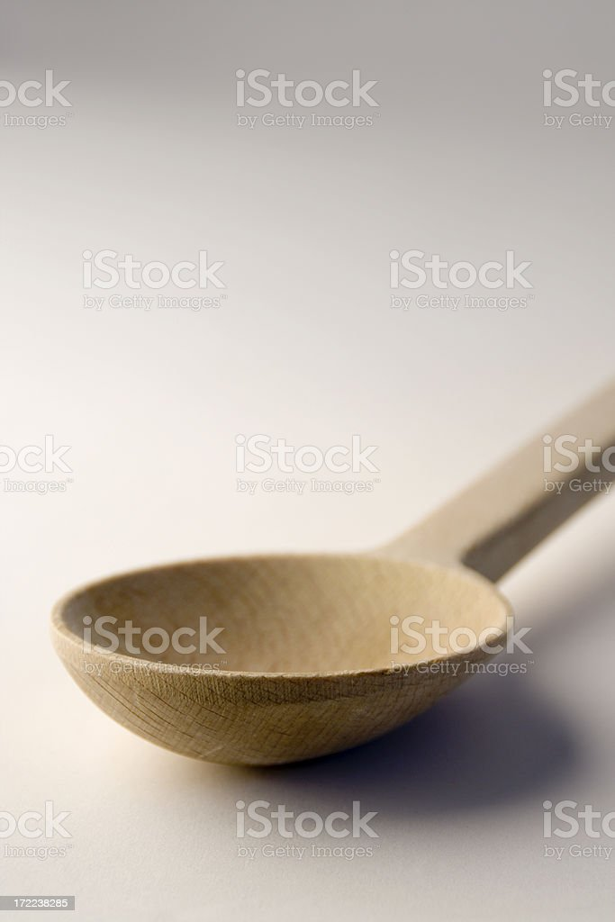 Kitchen Tool - Wooden Spoon Vt royalty-free stock photo