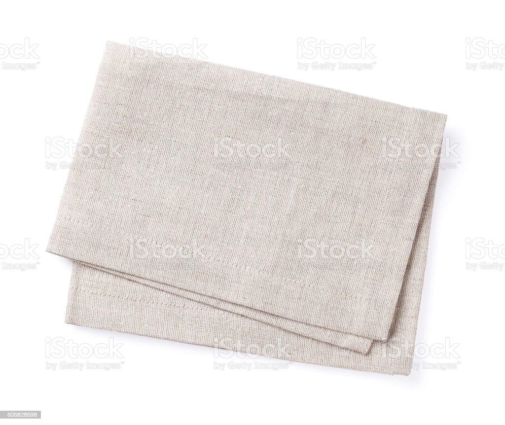 Kitchen towel stock photo