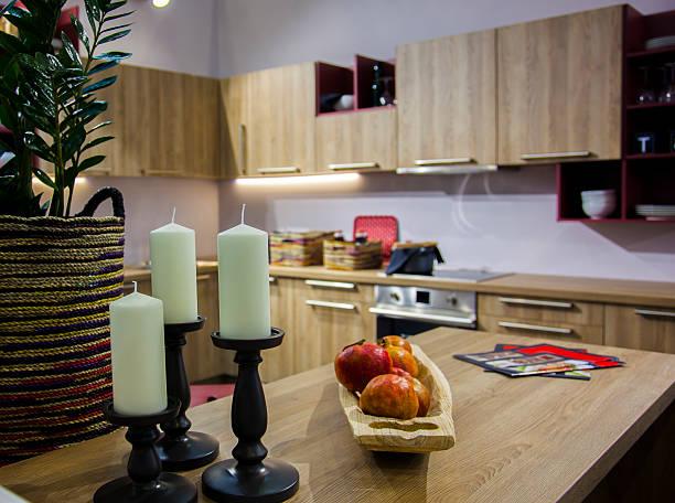 Küche-Einheit in der Innenseite – Foto