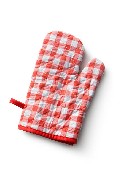 Kitchen Utensils: Oven Mitt stock photo