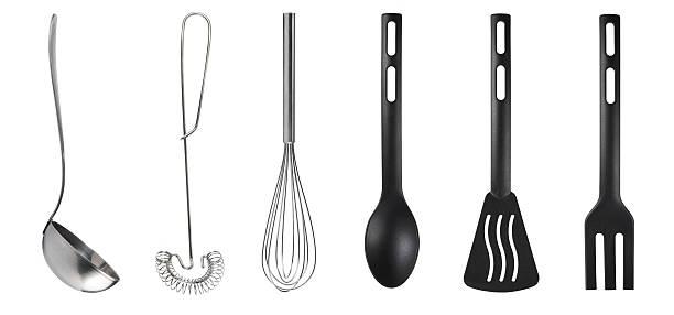 kitchen utensils - ballonklopper stockfoto's en -beelden