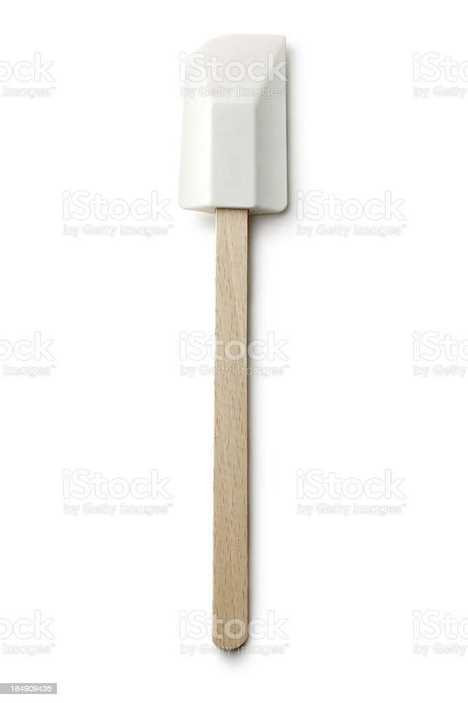 Kitchen Utensils: Rubber Spatula stock photo