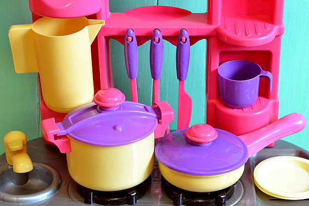 Kitchen utensils toys for kids Set of kids dishes. Children's toys. Children's kitchen game. Kitchen utensils big dipper constellation stock pictures, royalty-free photos & images