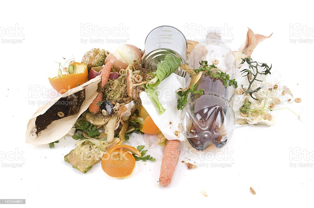 Kitchen Waste royalty-free stock photo