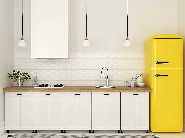 Kitchen with white furniture and a yellow fridge picture id544126650?b=1&k=6&m=544126650&s=612x612&w=0&h=tynwykzaizvoruj6htldo  rfv7mpf05bjpba e3rro=