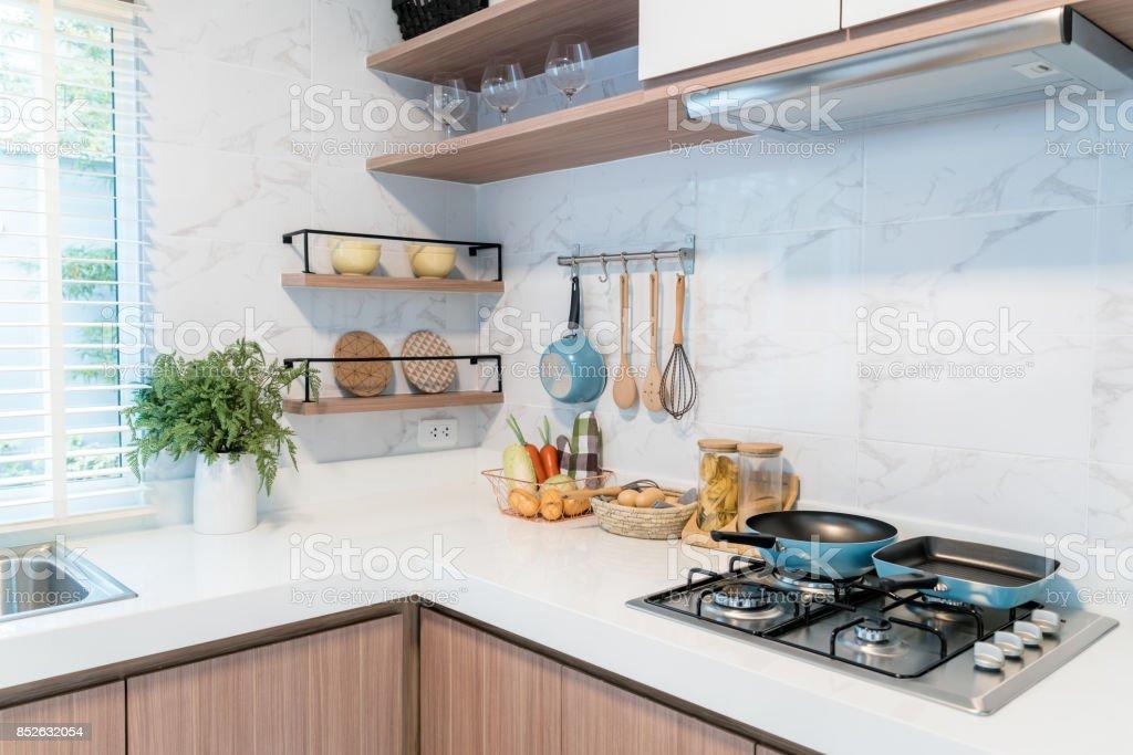 Kitchen Wood Utensils Chef Accessories Hanging Copper ...