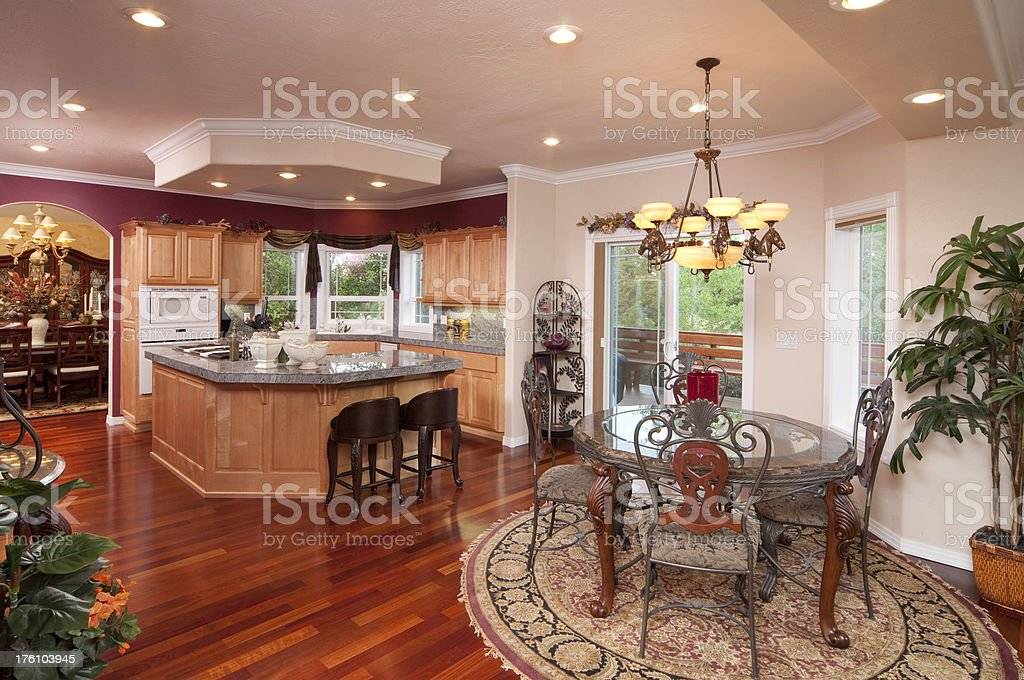 Kitchen Dining And More.Kitchendining Room Stock Photo More Pictures Of Arch