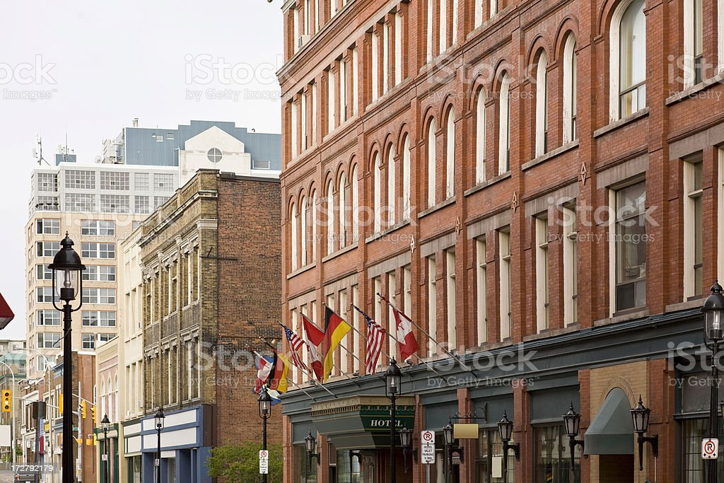 Kitchener Ontario stock photo