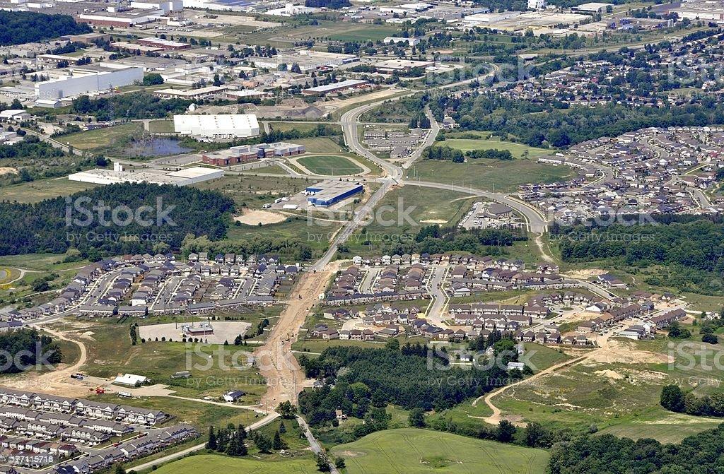 Kitchener suburbs stock photo