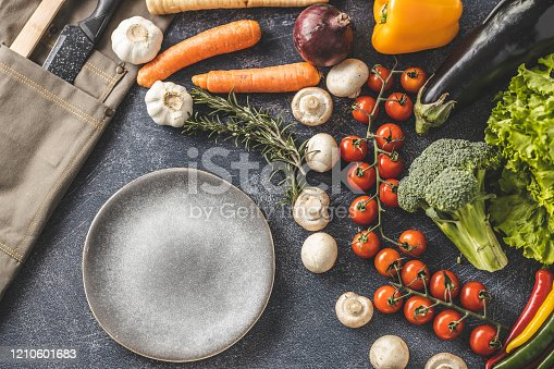 istock Kitchen's equipment 1210601683