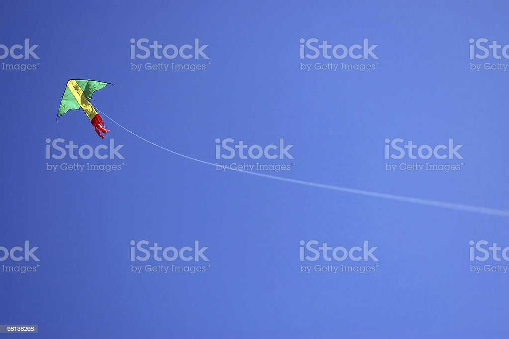 Kite and String royalty-free stock photo