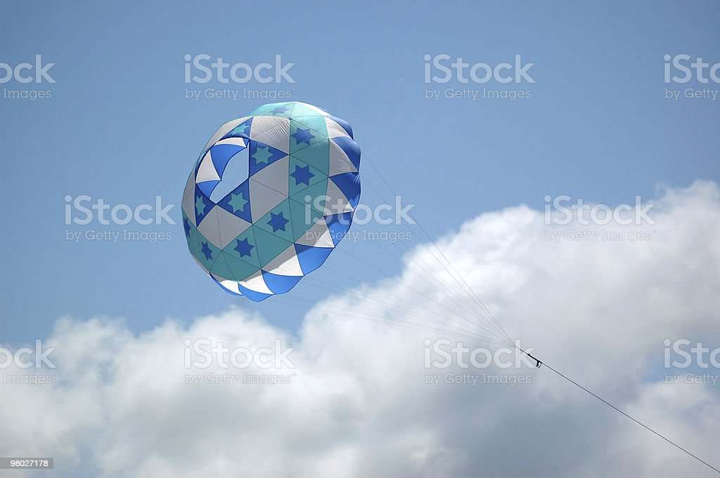 Polizza di carico kite foto stock royalty-free