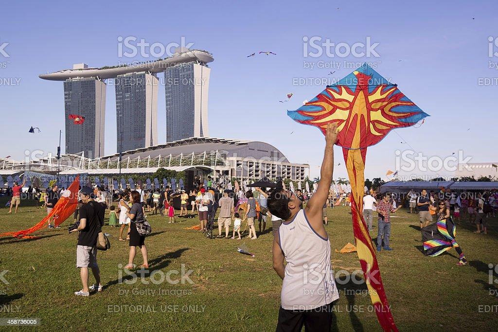 Kite Festival Singapore royalty-free stock photo
