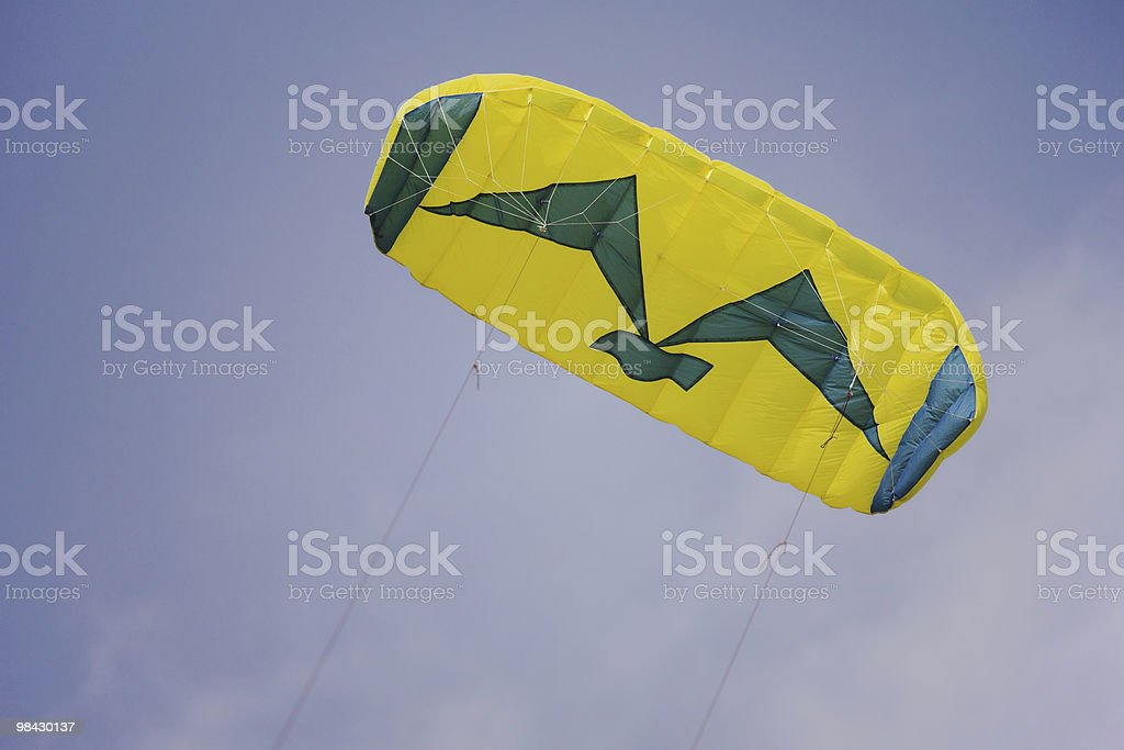 Kite on a holiday in school vacation royalty-free stock photo