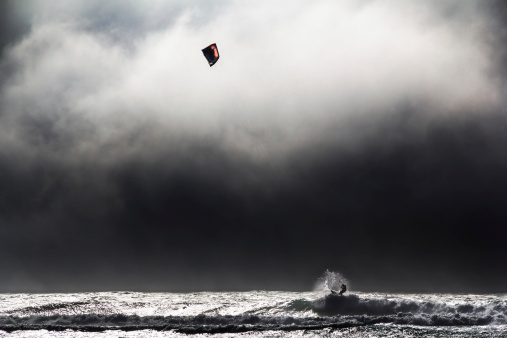 Kite Surfing the Storm