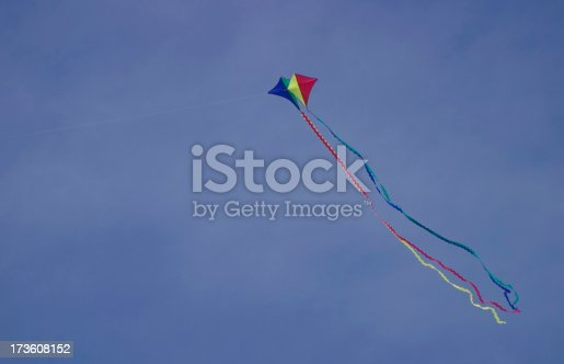 Colorful kites with long tails.I would greatly appreciate it if you'd take the time to let me know how you use this image.