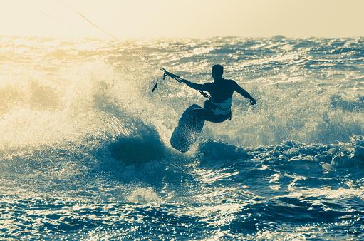 Kitesurfer Stockfoto und mehr Bilder von 2015