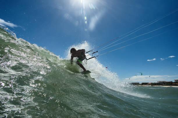 Kitesurfer - foto de stock