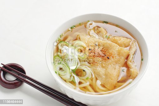 istock kitsune udon , japanese noodle dish 1156464444
