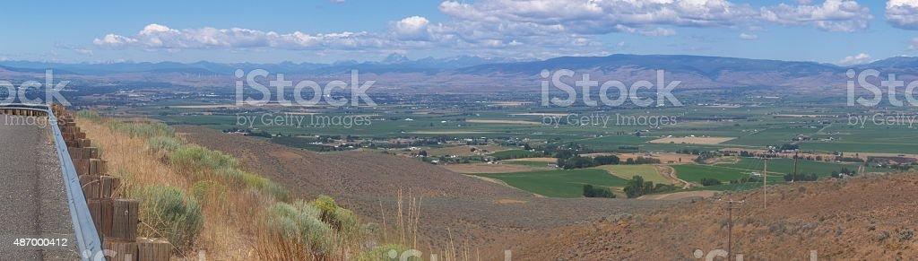 Kittitas Valley stock photo