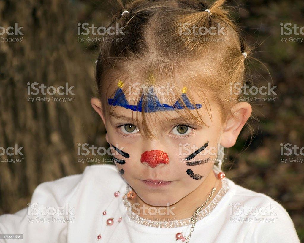 Kitty Cat Princess royalty-free stock photo