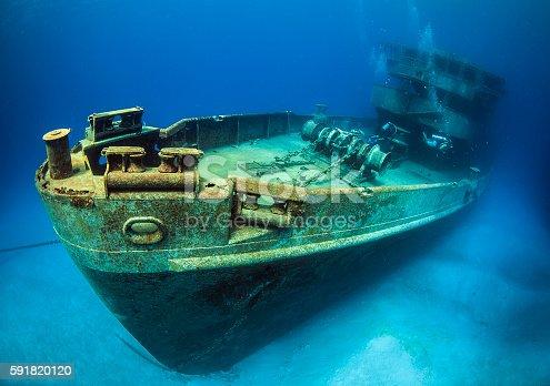 USS kittywake in Grand Cayman