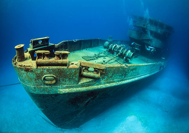 uss kittywake - shipwreck stock pictures, royalty-free photos & images