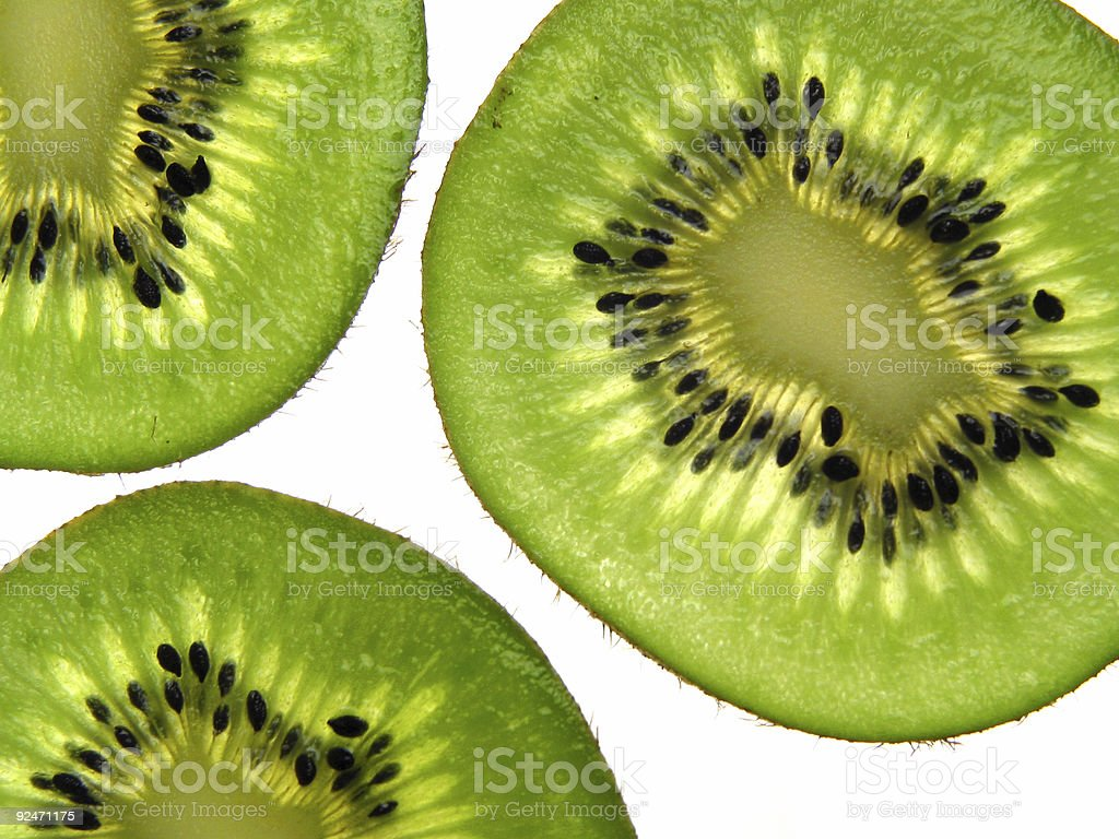 Kiwi background royalty-free stock photo