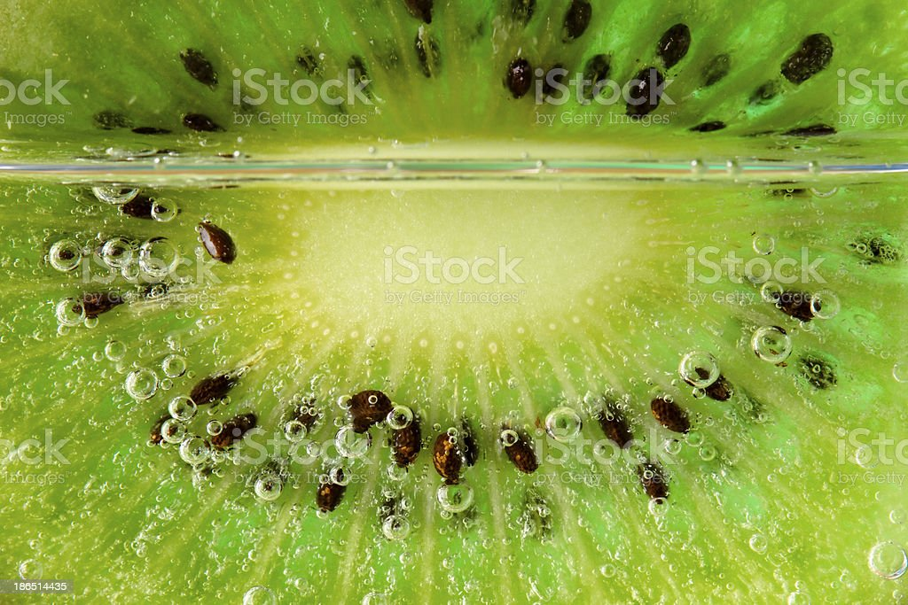 kiwi bubbles royalty-free stock photo
