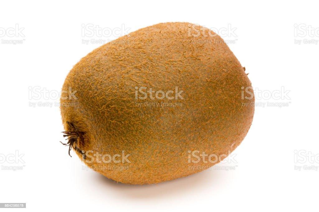Kiwi fruit and sliced isolated on white background. royalty-free stock photo