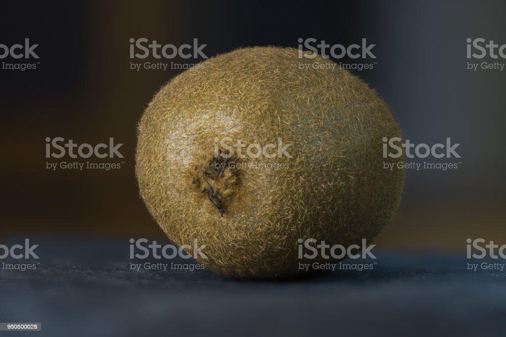 Kiwifrucht auf dem Schiefer Tablett - Lizenzfrei Braun Stock-Foto