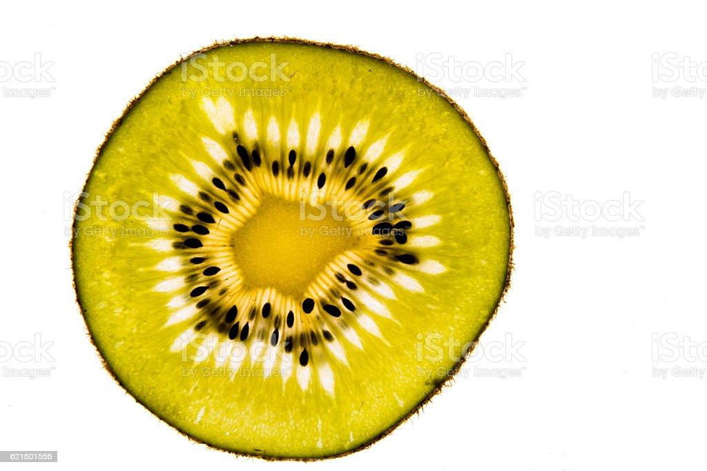 Kiwi Frucht auf weißem Hintergrund Lizenzfreies stock-foto