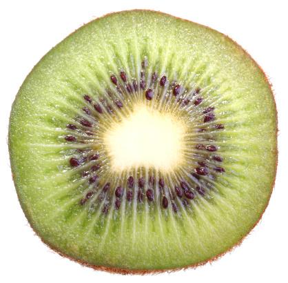 Three mature a kiwi fruit