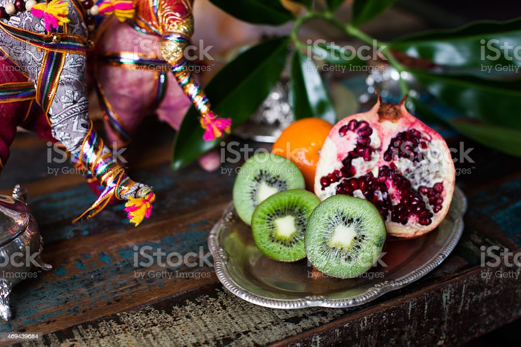 Kiwi Fruit Still Life In The Indian Interior Stock Photo Download Image Now Istock
