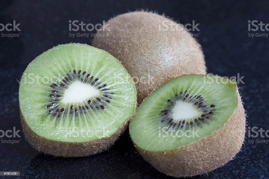 Kiwi Fruits royaltyfri bildbanksbilder