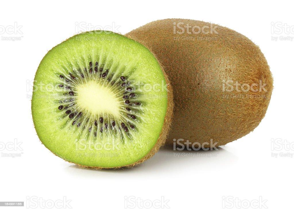 Kiwi isolated stock photo