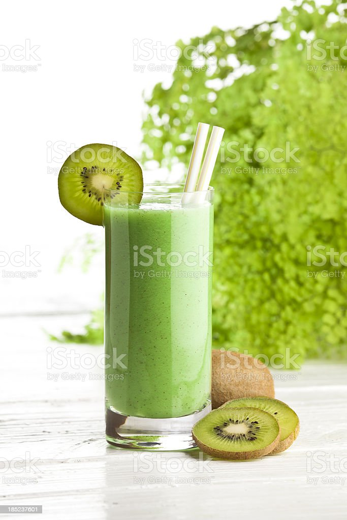 Kiwi Juice royalty-free stock photo
