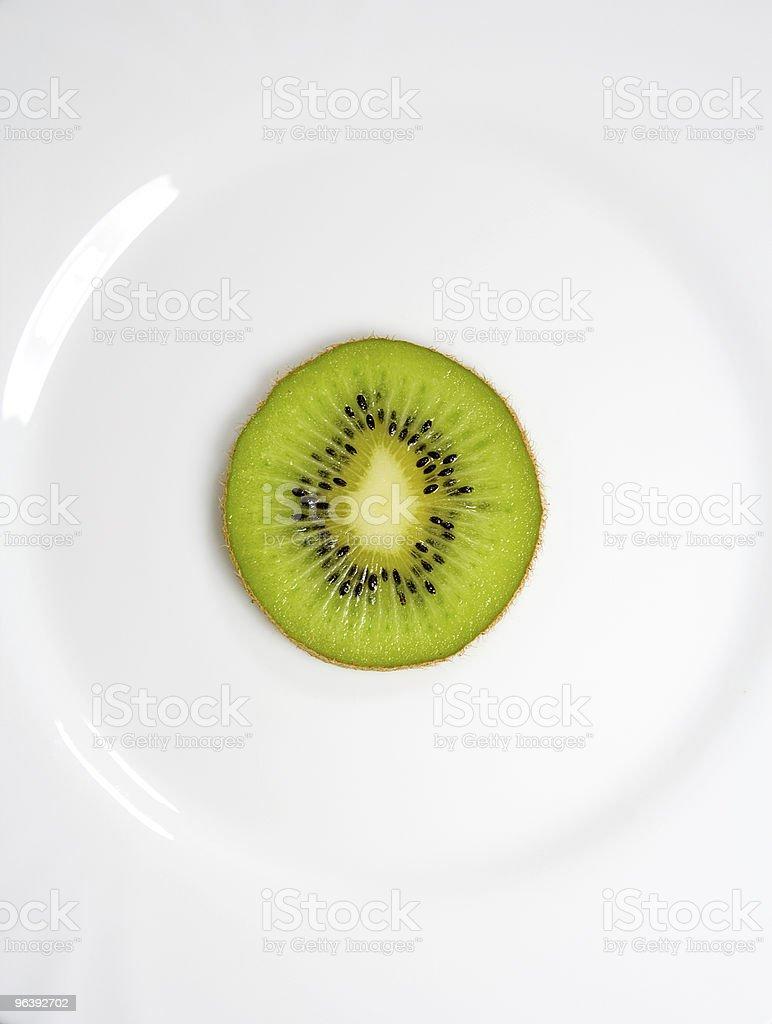 Kiwi on a plate - Royalty-free Breakfast Stock Photo