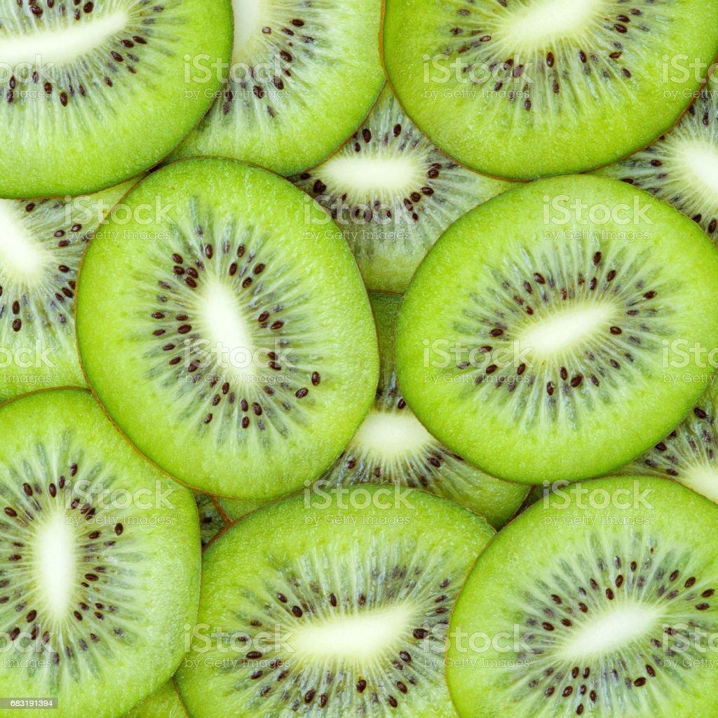Kiwi pattern   background 免版稅 stock photo