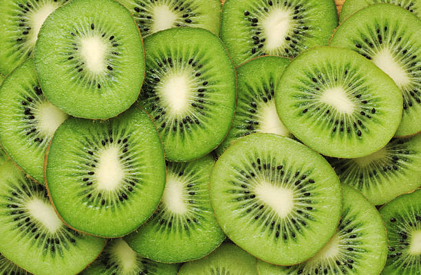 Kiwi pattern stock photo