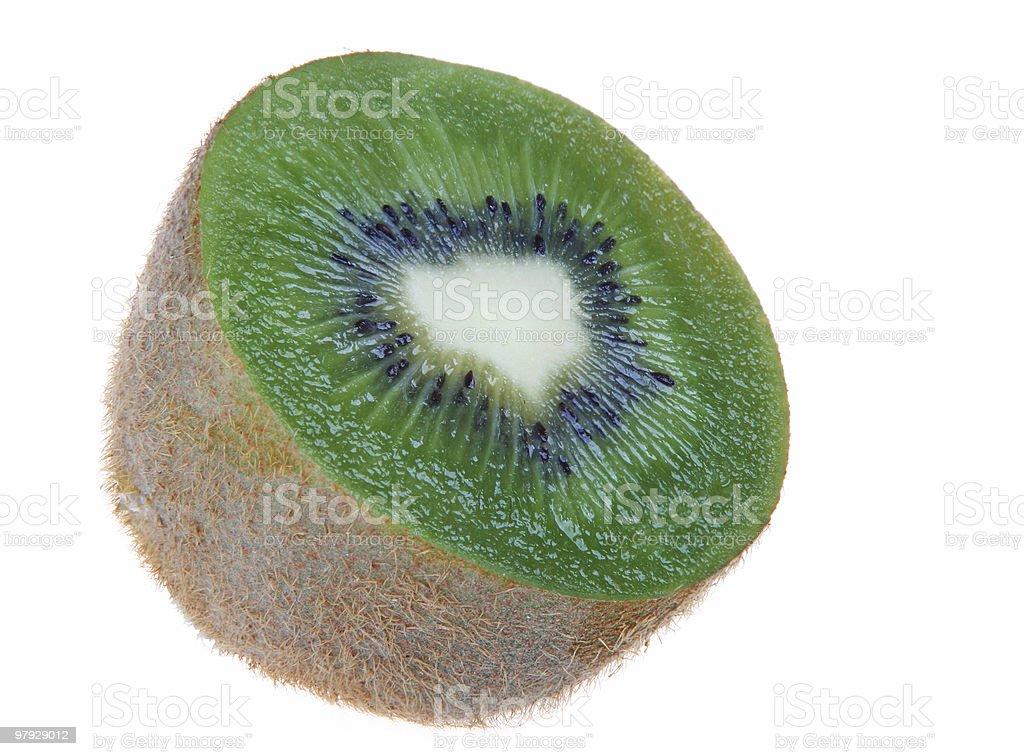 Kiwi slice royalty-free stock photo