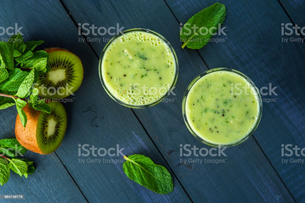 Kiwi Smoothie royalty-free stock photo