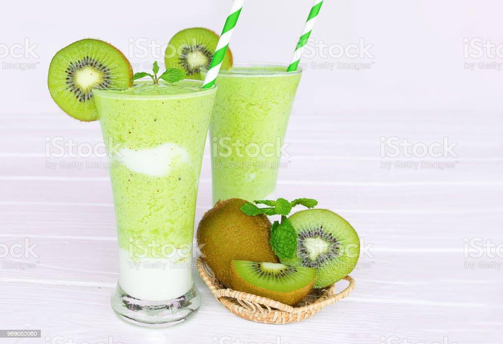 Grüner Saft zur Gewichtsreduktion