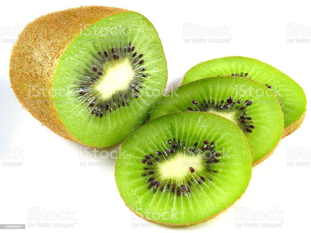 Kiwis: fresh and fruity! royalty-free stock photo