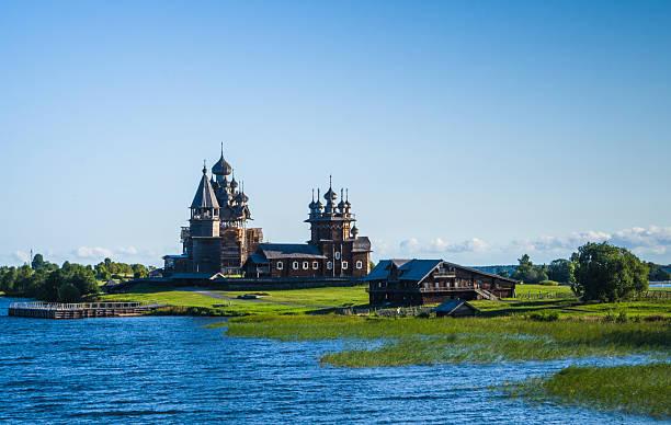 Kizhi Island, Russia stock photo