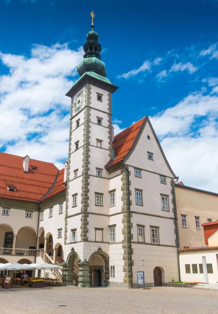 Klagenfurt, Austria: Building of regional government office in Klagenfurt stock photo