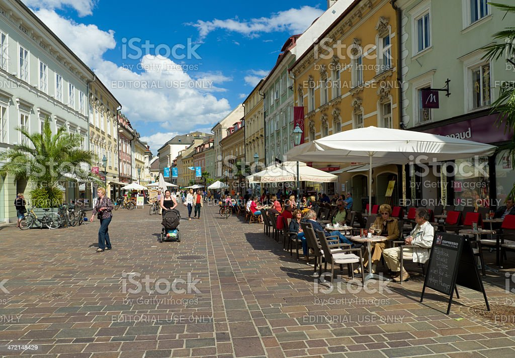 klagenfurt, austria stock photo