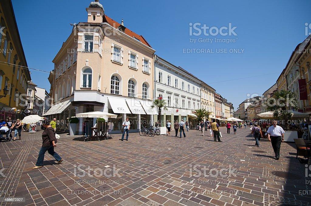 Klagenfurt City royalty-free stock photo